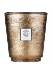 Copper Clove kozubová sklenená sviečka