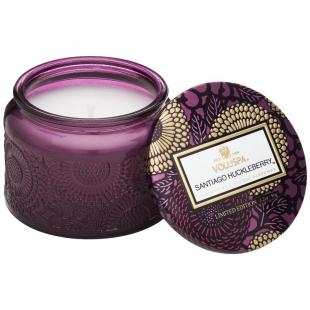 Santiago Huckleberry Petite Glass Jar Candle VOLUSPA - 1