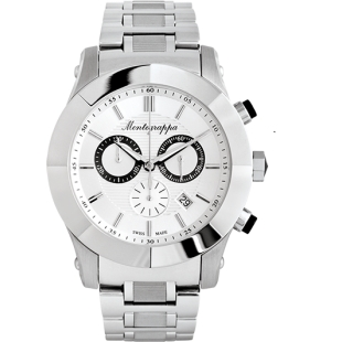 NeroUno Chrono Watch silver
