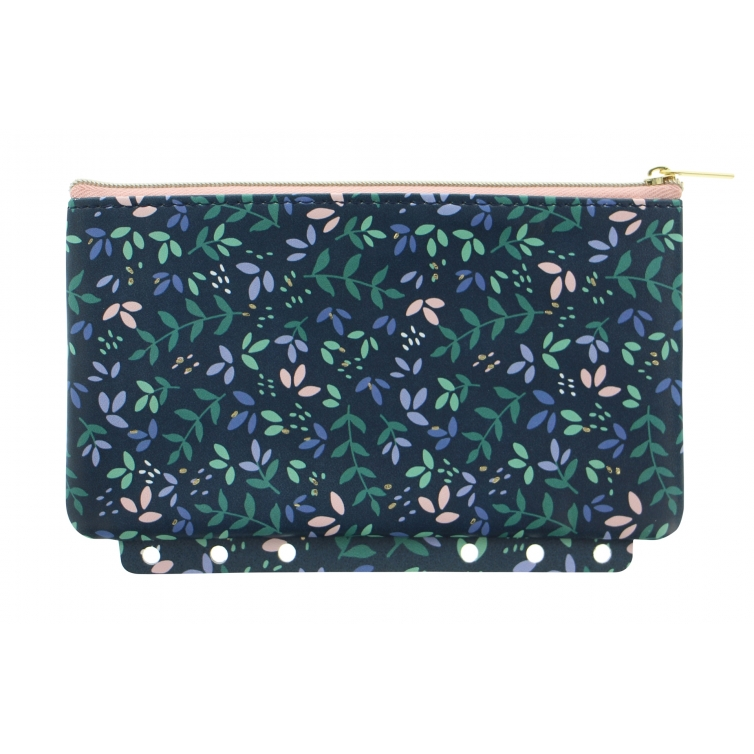 Garden Multi-fit Zipper Pouch Dusk