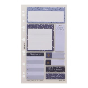 Indigo Multi-fit Sticky Notes