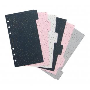 Confetti Rozraďovače pre Osobné diáre FILOFAX - 1