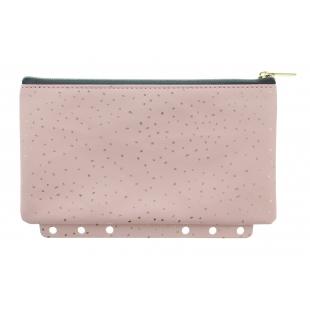Confetti Puzdro na zips Multi-fit Rose Quartz FILOFAX - 1