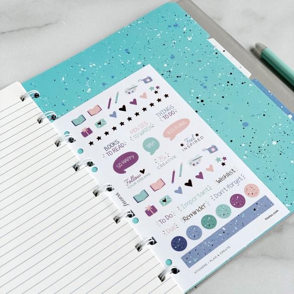 Expressions Rozraďovače pre A5 Notebook FILOFAX - 3