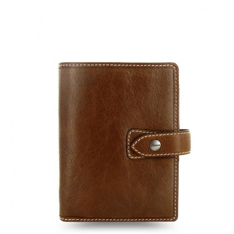 Malden organizer pocket brown FILOFAX - 1