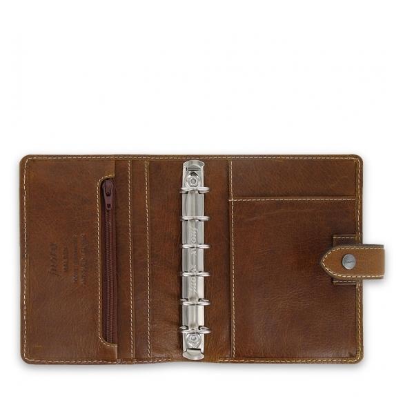 Malden organizer pocket brown FILOFAX - 2
