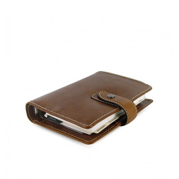 Malden organizer pocket brown FILOFAX - 3