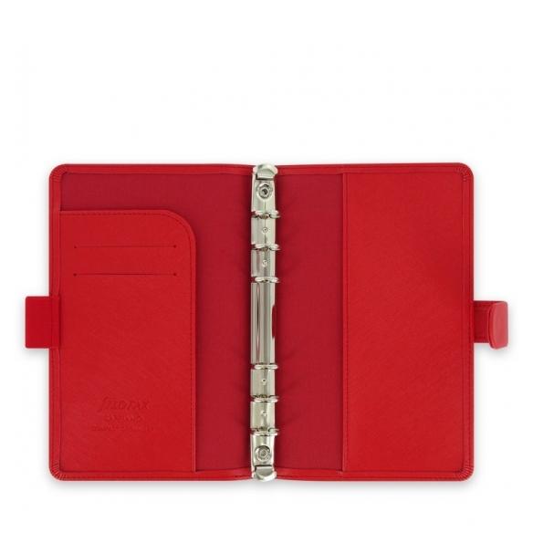 Saffiano Diár Compact červená FILOFAX - 2
