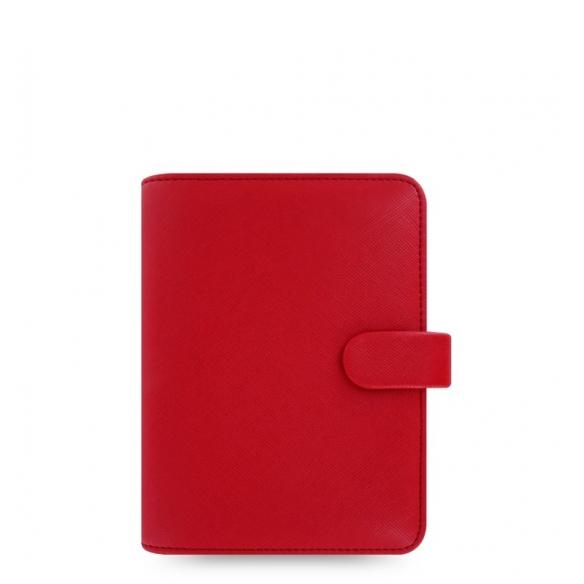 Saffiano Diár Vreckový červená FILOFAX - 1