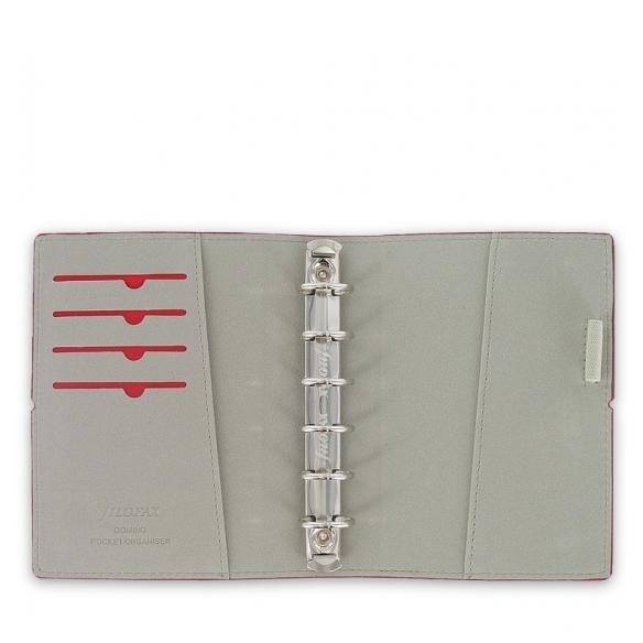 Domino Organizer pocket red FILOFAX - 2