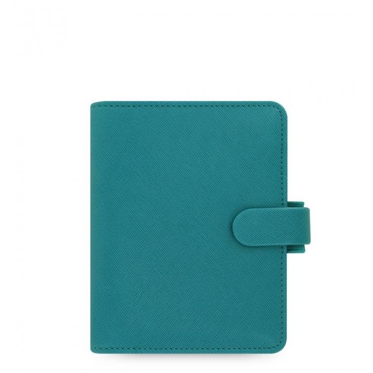 Saffiano Organiser Pocket Blue
