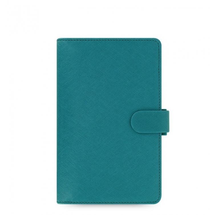Saffiano Organiser Compact Blue