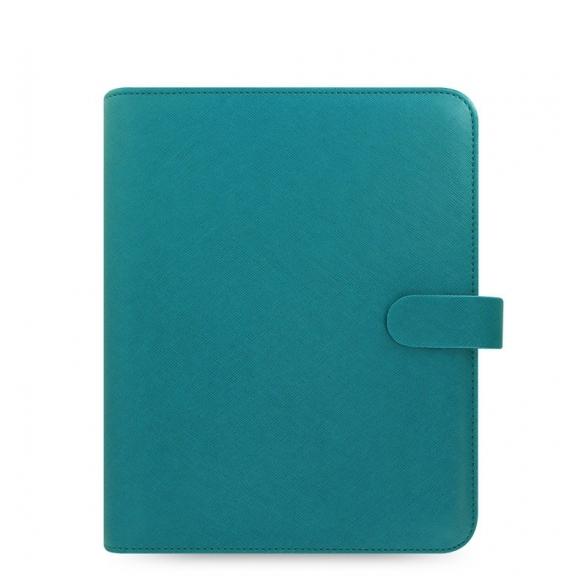 Saffiano Diár A5 modrý FILOFAX - 1