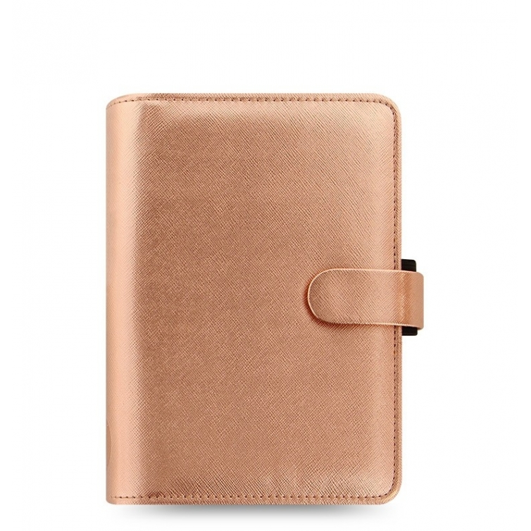 Saffiano Organiser Personal Rose Gold