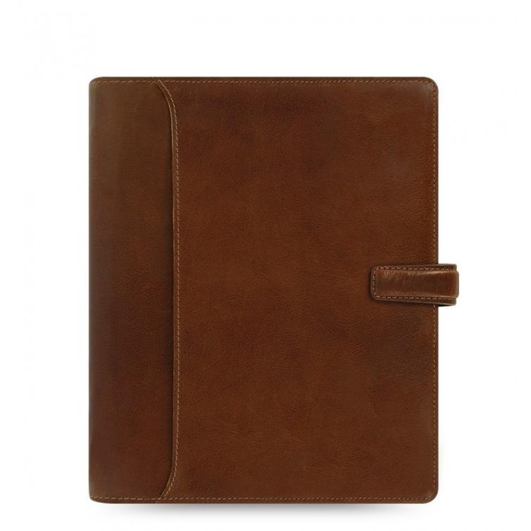 Lockwood A5 Organiser brown