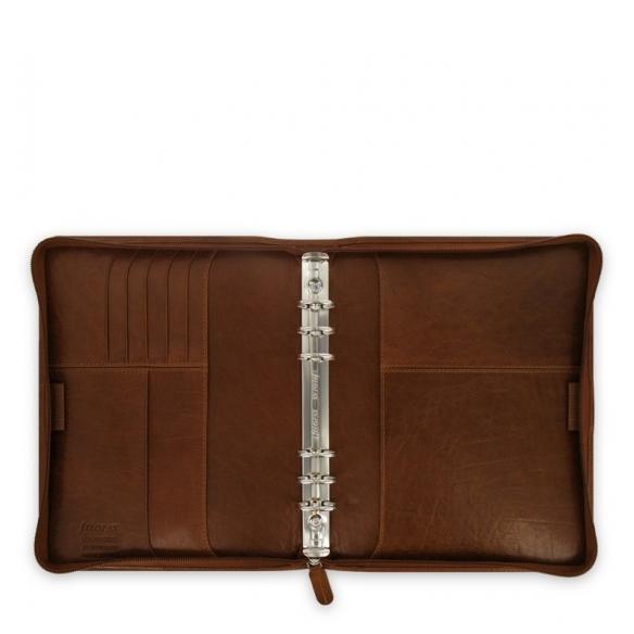 Lockwood Zip A5 Organiser brown FILOFAX - 2