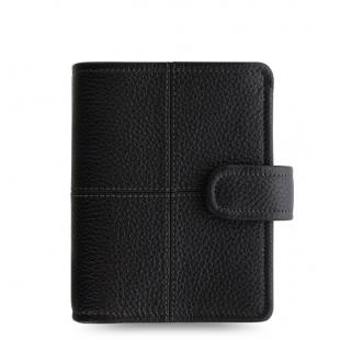 Classic Stitch Soft Organiser Pocket Black FILOFAX - 1