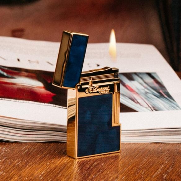 Atelier Blue Marine and Gold Zapaľovač S.T. DUPONT - 3