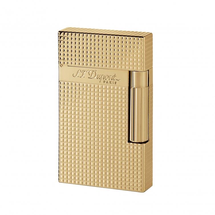 Gold Diamond lighter S.T. DUPONT - 1