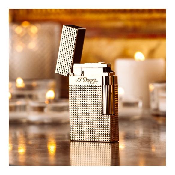 Gold Diamond lighter S.T. DUPONT - 2