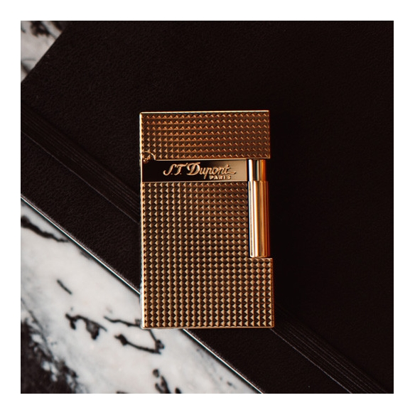 Gold Diamond lighter S.T. DUPONT - 3