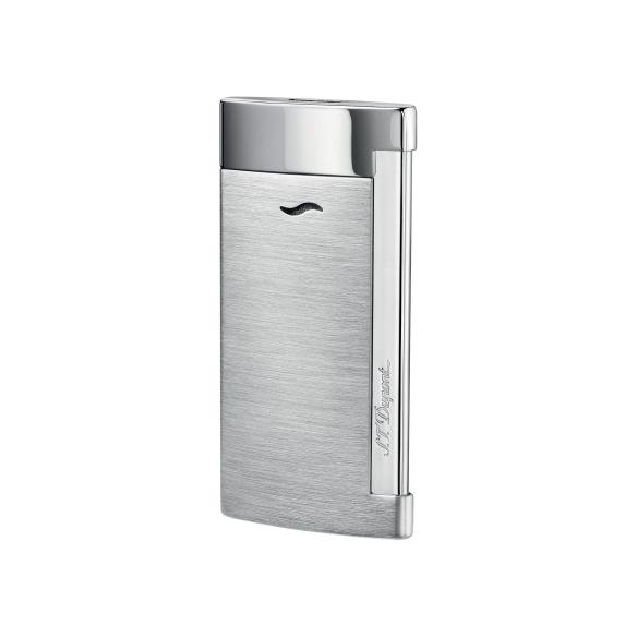 Slim 7 Chrome Brossé Lighter S.T. DUPONT - 1