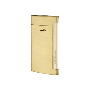 Slim 7 Full Golden Brushed Zapaľovač S.T. DUPONT - 1