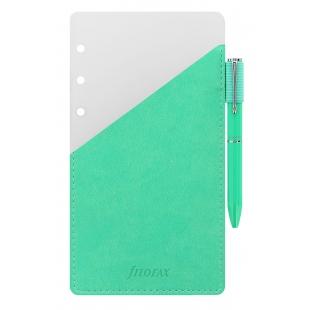 Guľôčkové pero s pútkom Osobné zelené FILOFAX - 1