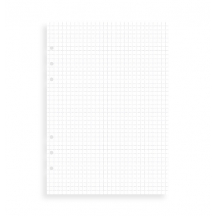 Štvorčekované papiere, náhradná náplň Clipbook A5 FILOFAX - 1