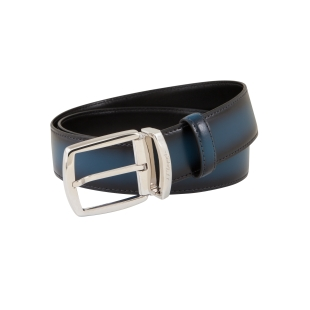 Line D Palladium Belt smooth blue with shades S.T. DUPONT - 1