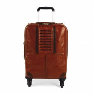 Heritage Trolley Cabin Bag Cestovná taška hnedá MONTEGRAPPA - 1