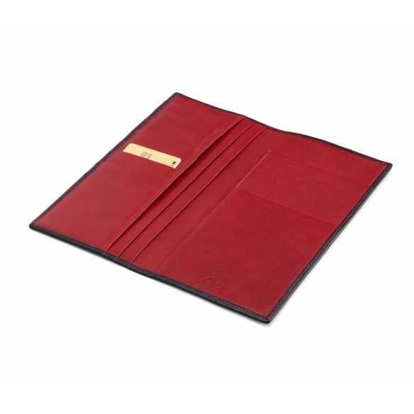 Travel Documents Case black and red MONTEGRAPPA - 3