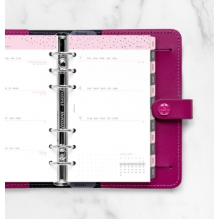 Week to View Diary Confetti Personal 2022 FILOFAX - 1