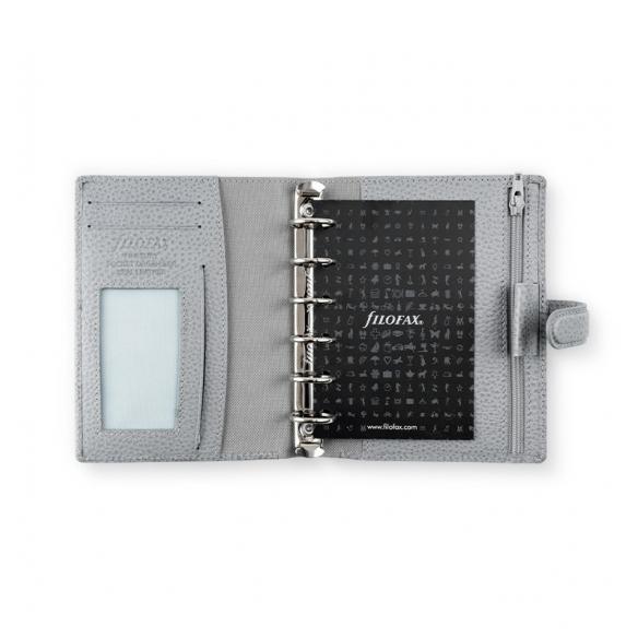 Finsbury Pocket Organiser Slate Grey FILOFAX - 4