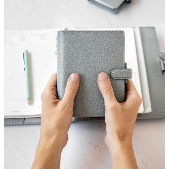 Finsbury Pocket Organiser Slate Grey FILOFAX - 5
