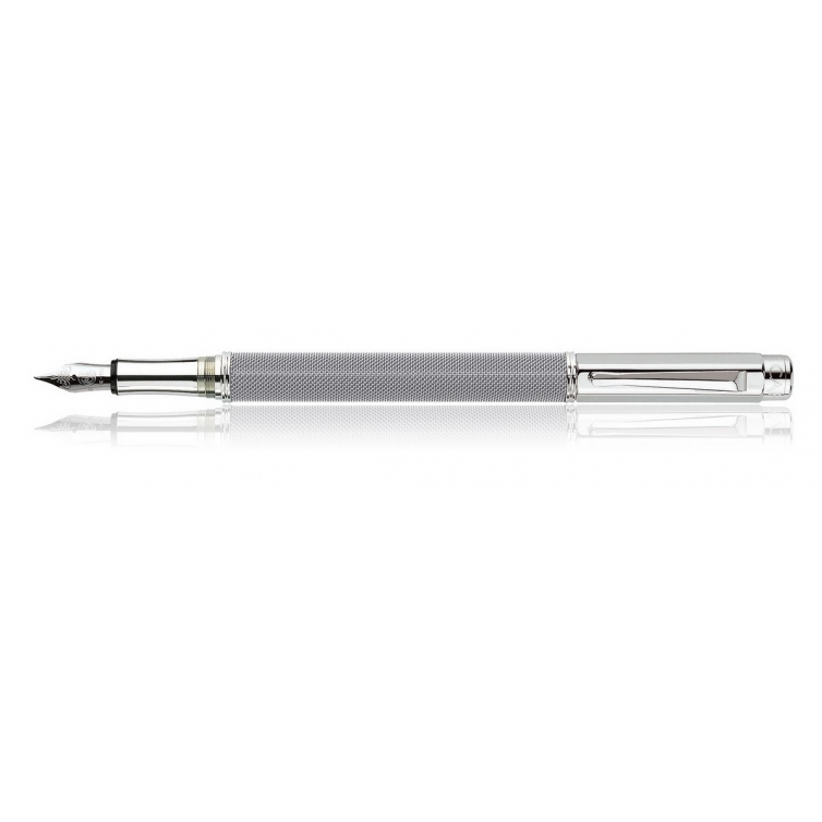 Ivanohe silver plated fountain pen