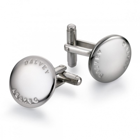 Discus Cufflinks Stainless Steel