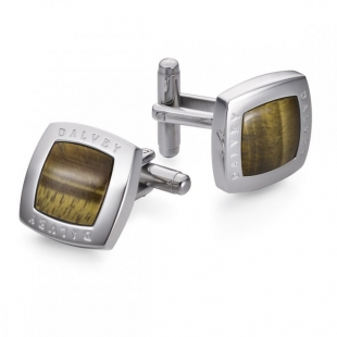 Quadrille Cufflinks Tigers Eye