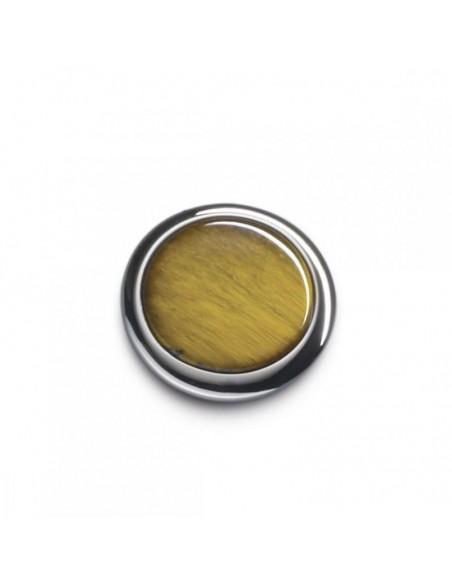 Button manžetové gombíky tigrie oko