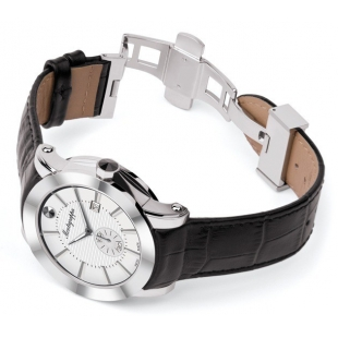 NeroUno Quartz Watch Steel Silver Dial