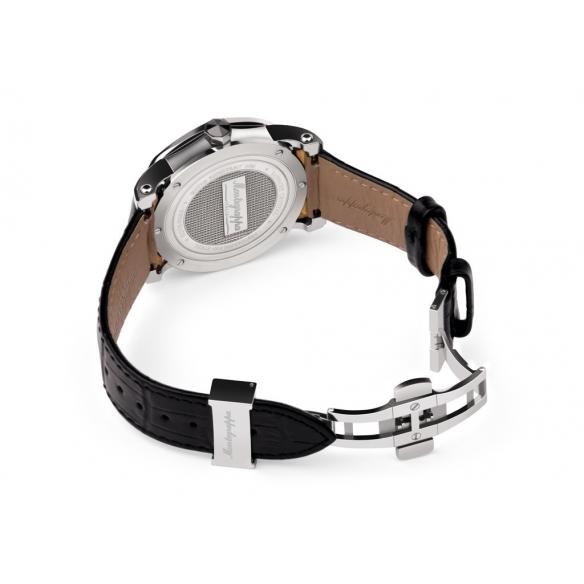 NeroUno Quartz Watch Steel Silver Dial