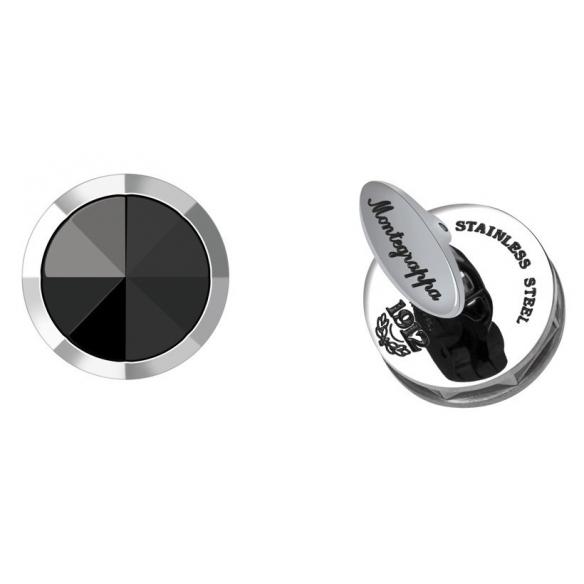 NeroUno Cufflinks with Onyx inlay