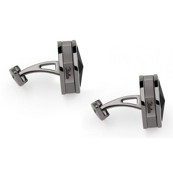 NeroUno Linea Cufflinks with Onyx inlay