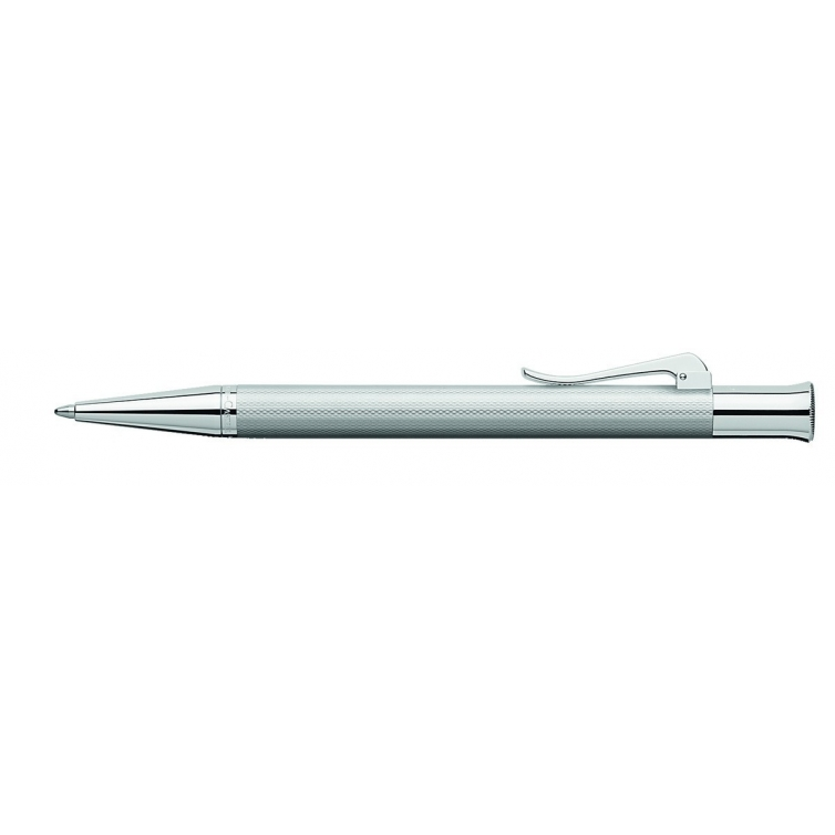 Guilloche Rhodium ballpoint pen