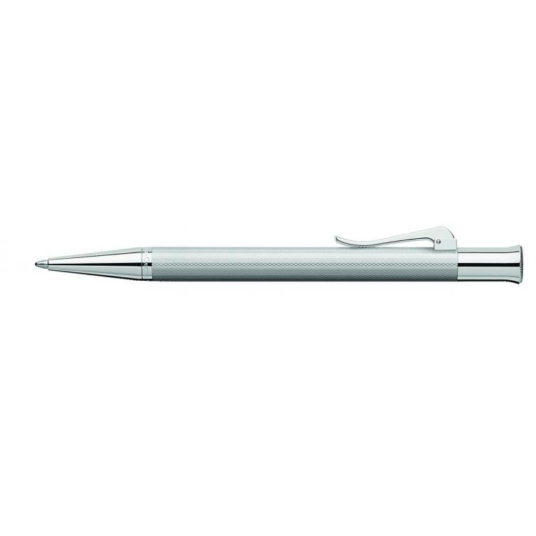 Guilloche Rhodium guľôčkové pero