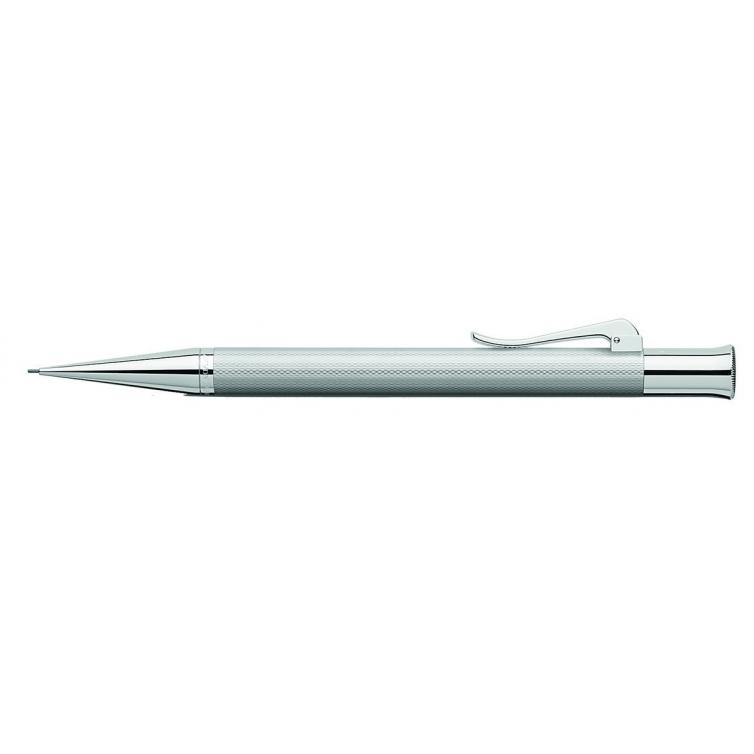 Guilloche Rhodium mechanical pencil