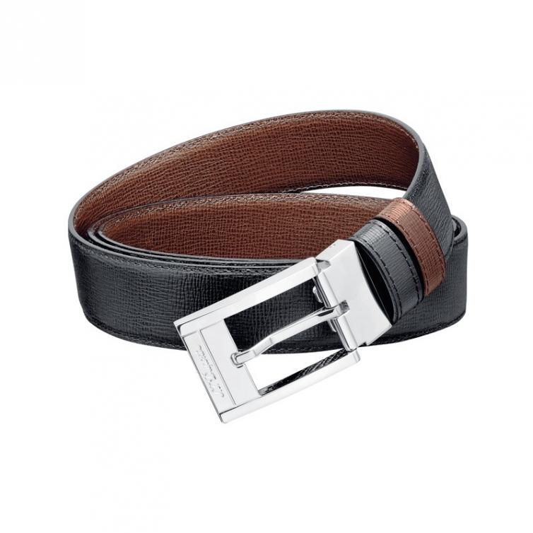 Line D Grained delta box Black/Brown Belt S.T. DUPONT - 1