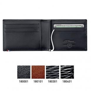 Line D peňaženka so sponou na bankovky 6 CC Elysée  S.T. DUPONT - 1