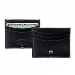 Line D Credit Card Holder Black S.T. DUPONT - 1