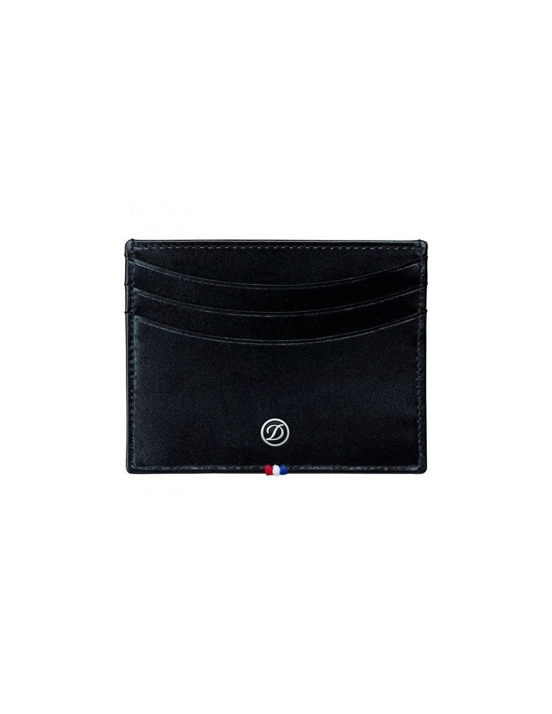 S.T. Dupont Line D Credit Card Holder Black| ExclusivePen ...
